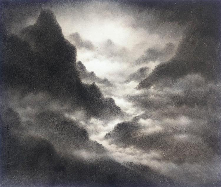 WANG WUXIE (B. 1936) YUN SHAN SHI LIU (