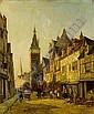 WILLIAM RAYMOND DOMMERSEN DUTCH 1850-1927 RUE DELLE CICOGNE, DIEPPE, William Raymond Dommersen, Click for value