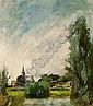 PIET VAN WIJNGAERDT DUTCH 1873-1964 'GEZICHT OP ABCOUDE', Petrus Theodorus