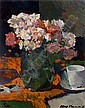 KEES VERWEY DUTCH 1900-1995 A FLOWER STILL LIFE, Kees Verweij, Click for value