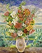 MAURITS NIEKERK DUTCH 1871-1940 A FLOWER STILL LIFE, Maurits Joseph Niekerk, Click for value
