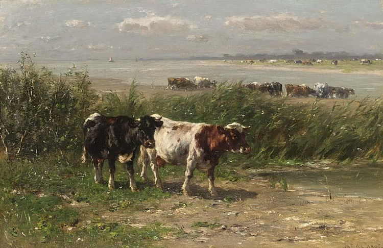 JOHANNES HUBERTUS LEONARDUS DE HAAS DUTCH, 1832-1908