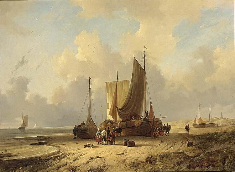 f - REMIGIUS ADRIANUS VAN HAANEN DUTCH, 1812-1894