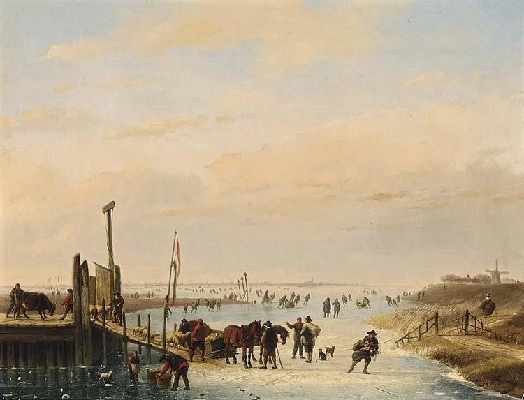 NICOLAAS JOHANNES ROOSENBOOM AND EUGENE JOSEPH VERBOECKHOVEN, DUTCH, 1805-1880 AND BELGIAN, 1798-1881