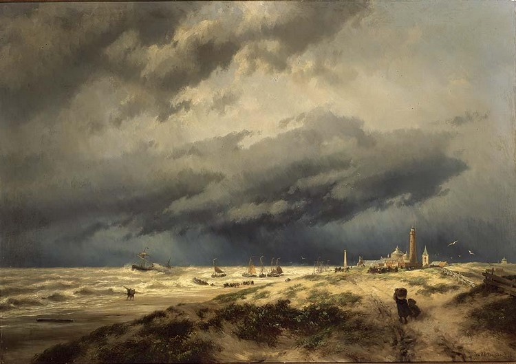 JOHANNES HERMANUS BAREND KOEKKOEK DUTCH, 1840-1912