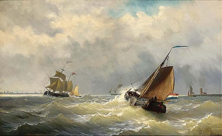 WILLEM GRUYTER DUTCH, 1817-1880