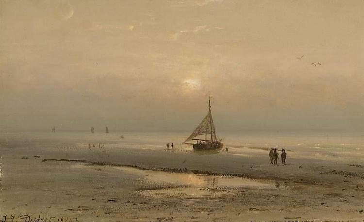 JOHANNES JOSEPH DESTREE BELGIAN, 1827-1888