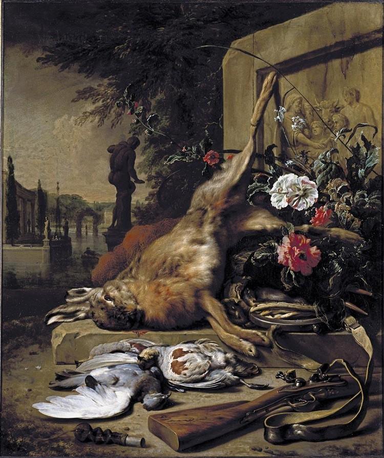 f - JAN WEENIX AMSTERDAM 1642 (?) - 1719