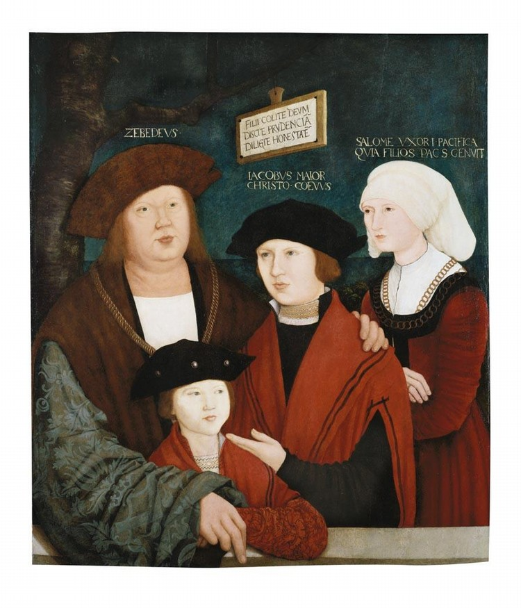 BERNHARD STRIGEL MEMMINGEN 1460 -- 1528