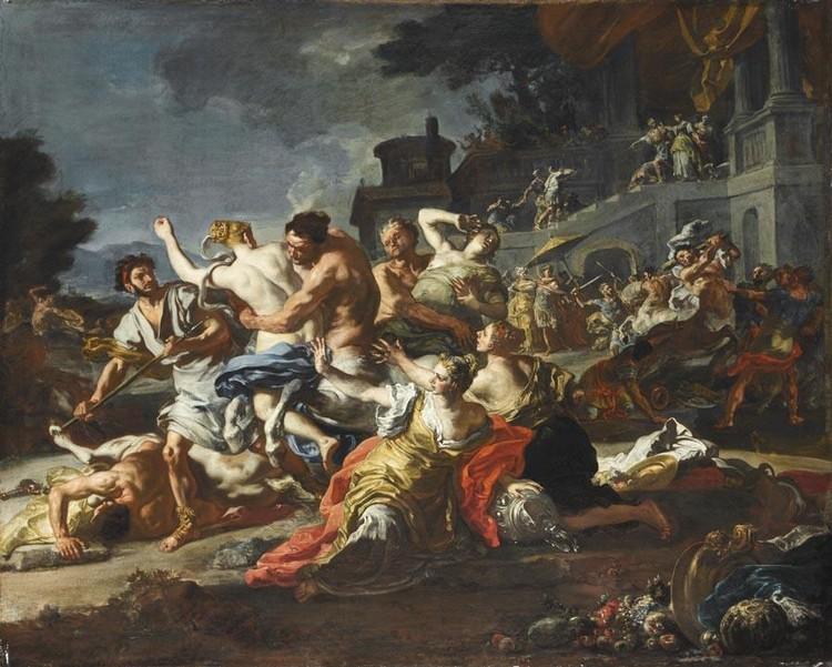 FRANCESCO SOLIMENA CANALE DI SERINO 1657 - 1747 BARRA