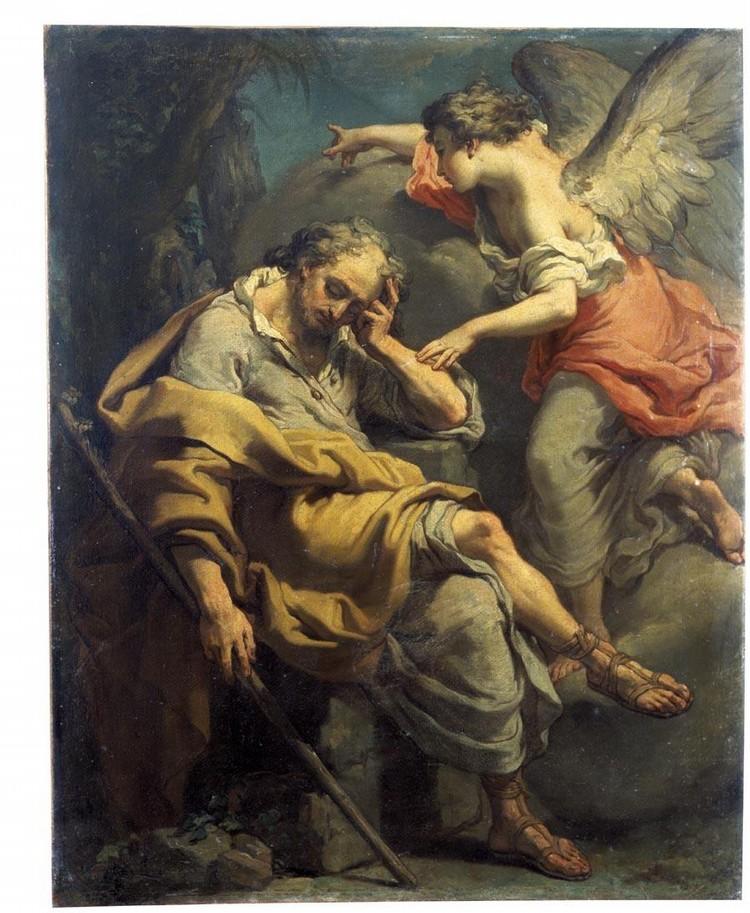 GAETANO GANDOLFI SAN MATTEO DELLA DECIMA NEAR BOLOGNA 1734 - 1802 BOLOGNA