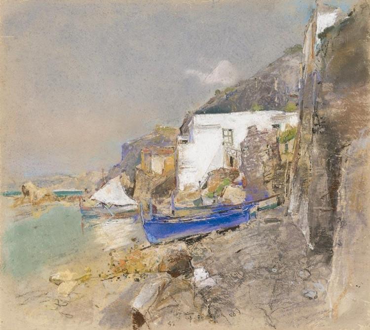 GIUSEPPE CASCIARO (ORTELLE 1863 - NAPOLI 1945)
