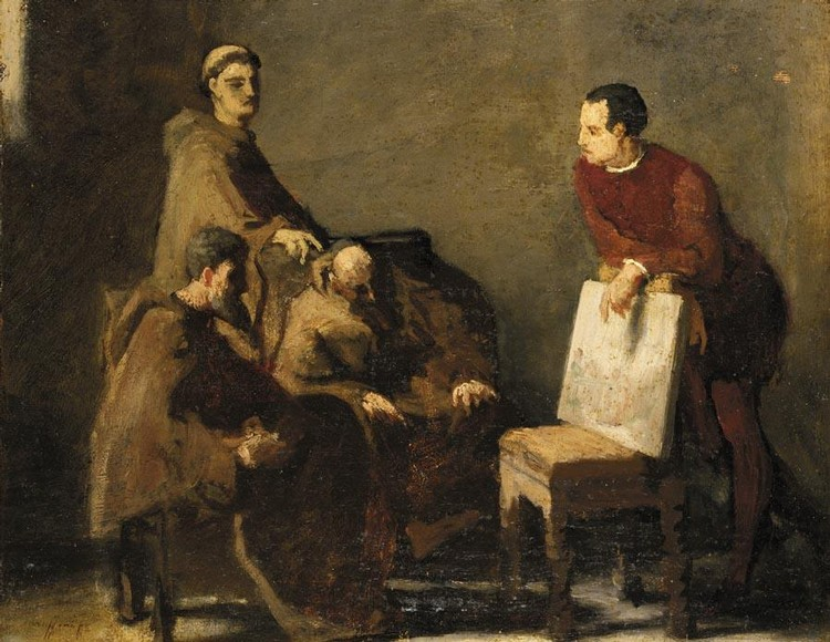 FEDERICO FARUFFINI (SESTO SAN GIOVANNI 1833 - PERUGIA 1869)