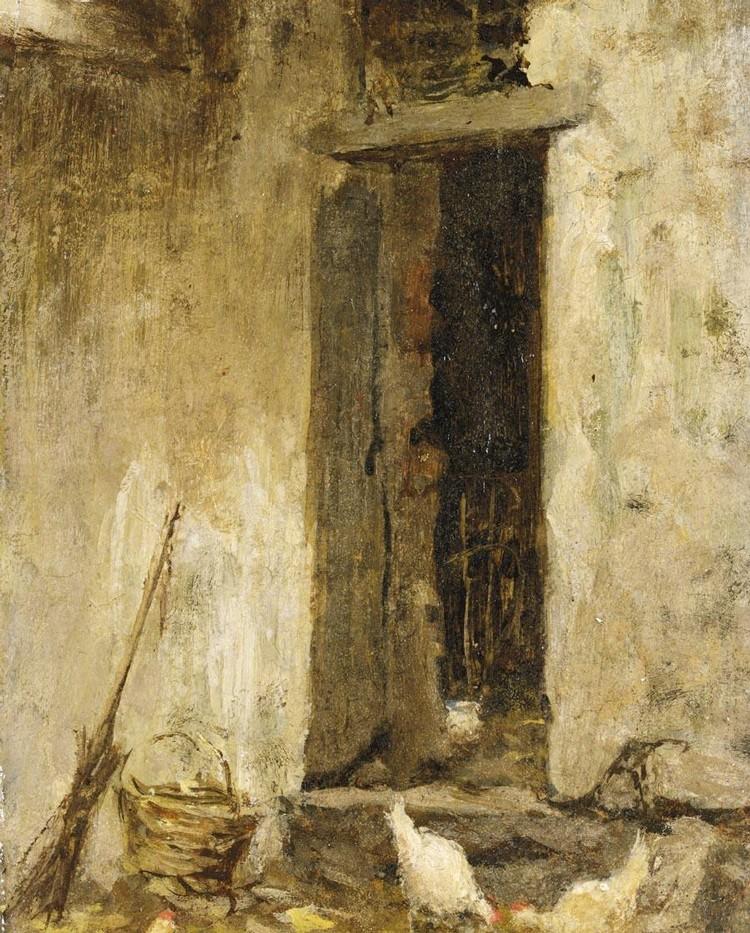 ROBERTO FONTANA (MILANO 1844 - 1907)