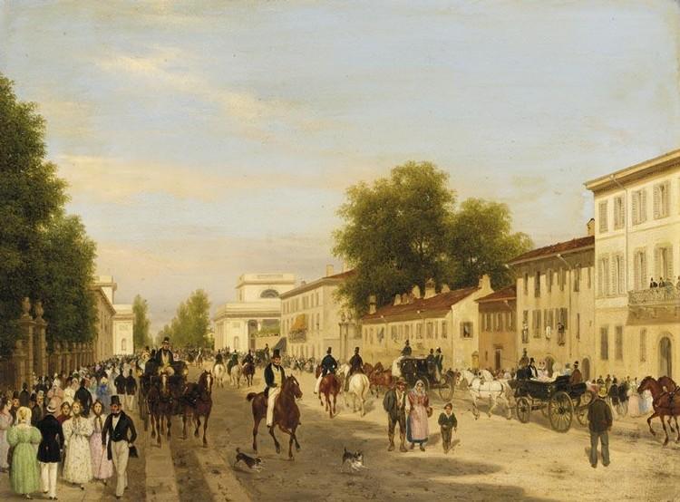 GIUSEPPE CANELLA (VERONA 1788 - FIRENZE 1847)