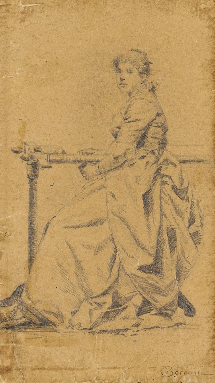 ODOARDO BORRANI (PISA 1832 - FIRENZE 1905)