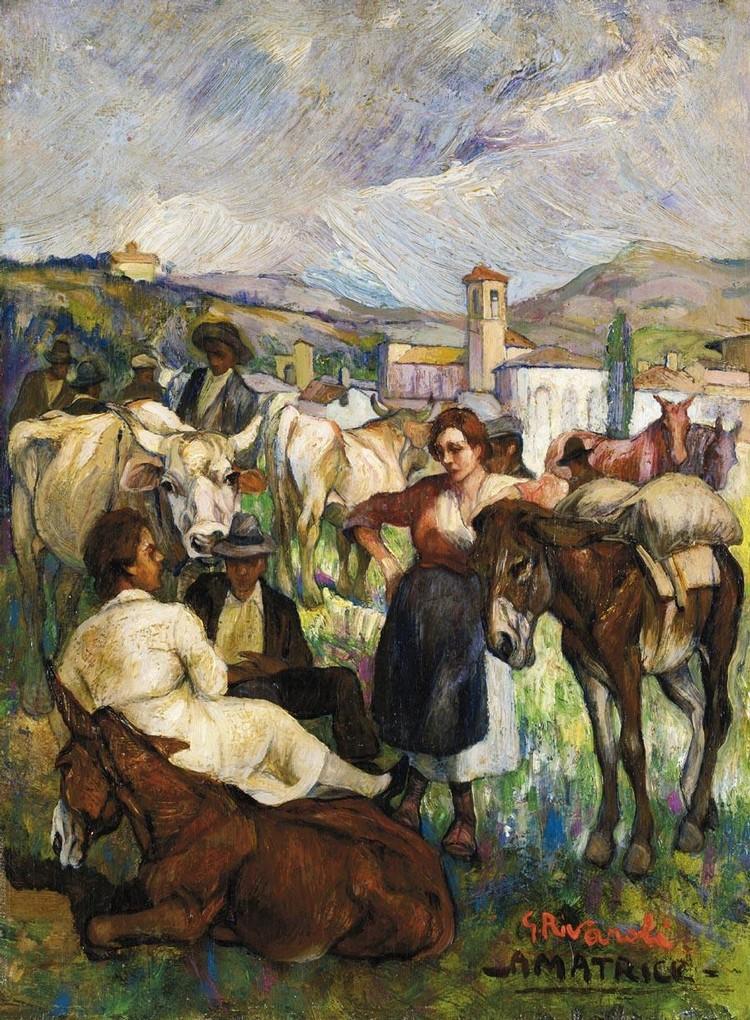 GIUSEPPE RIVAROLI (CREMONA 1885 - 1943)