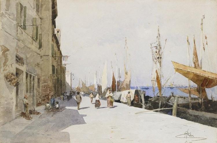 PAOLO SALA (MILANO 1859 - 1924)