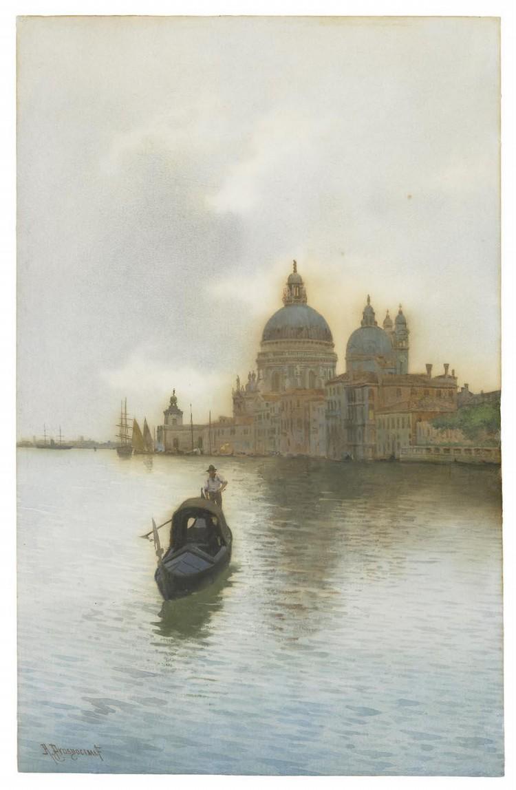 ALBERTO PROSDOCIMI (VENEZIA 1852 - 1925)