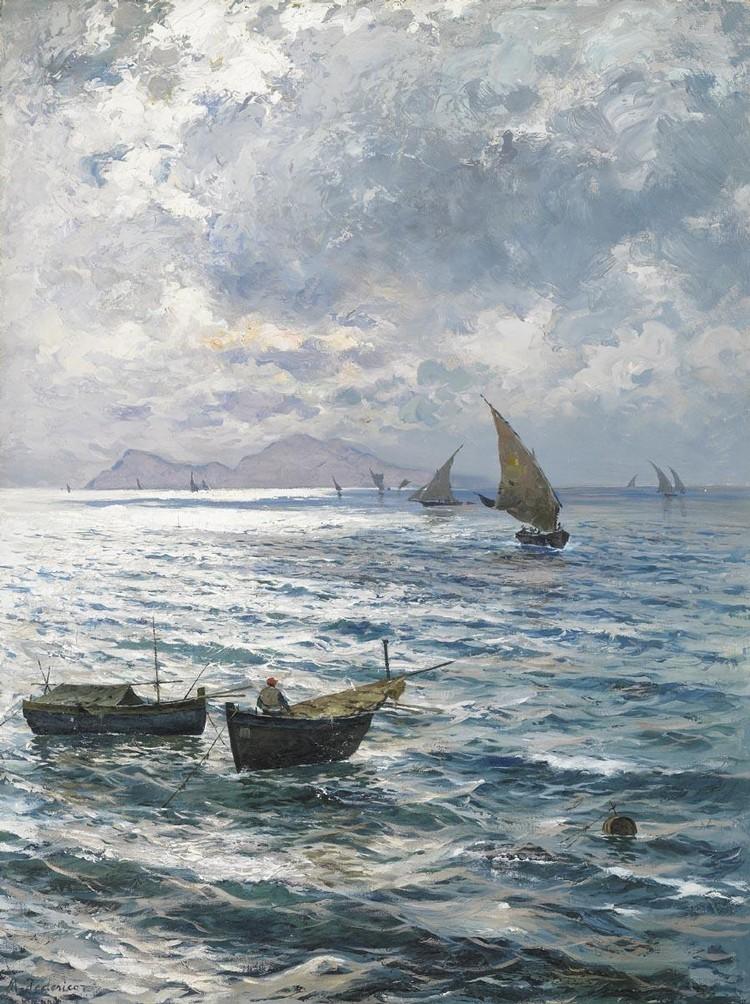 MICHELE FEDERICO (CAPRI 1884 - 1966)