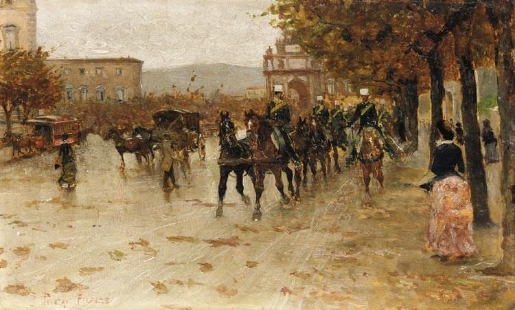 RUGGERO PANERAI (FIRENZE 1862 - PARIGI 1923)