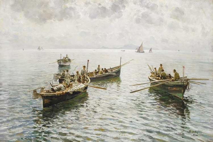 ATTILIO PRATELLA (LUGO DI ROMAGNA 1856 - NAPOLI 1949)