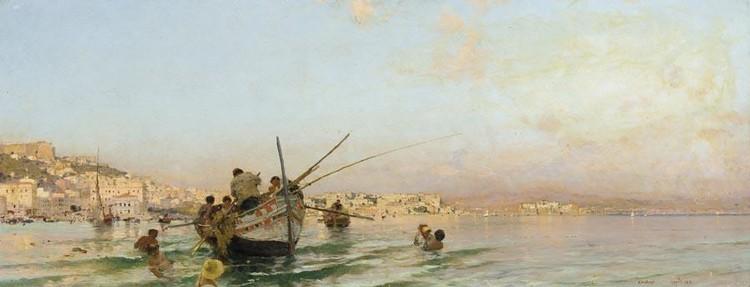 EDOARDO DALBONO (NAPOLI 1841 - 1915)