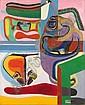 - Le Corbusier (Charles-Édouard Jeanneret) , 1887-1965 BAIGNEUSE, BARQUE ET COQUILLAGE huile sur toile   ,  Le Corbusier, Click for value