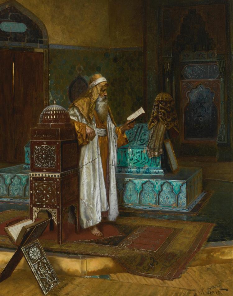 RUDOLF ERNST   The Tomb of Sultan Mehmet I