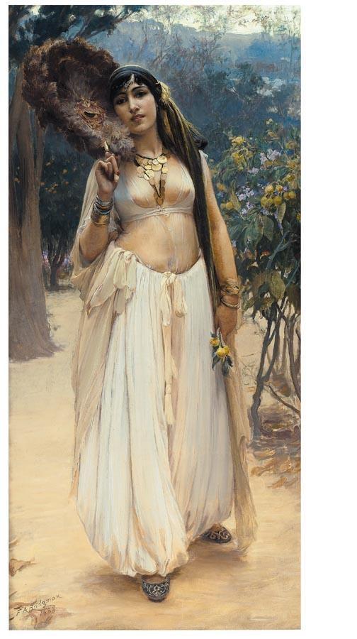 f - FREDERICK ARTHUR BRIDGMAN AMERICAN, 1847-1928