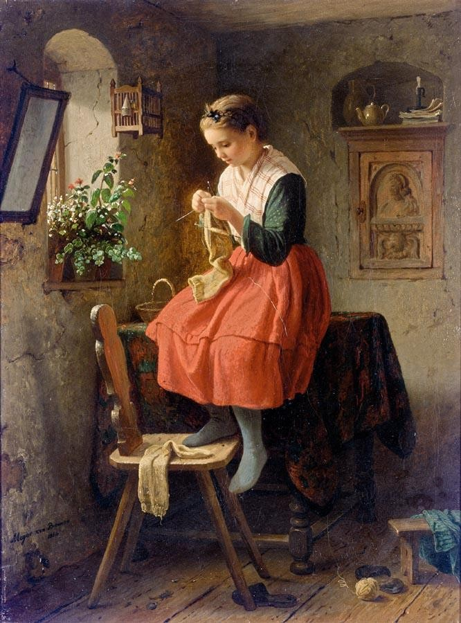 JOHANN GEORG MEYER VON BREMEN GERMAN, 1813-1886