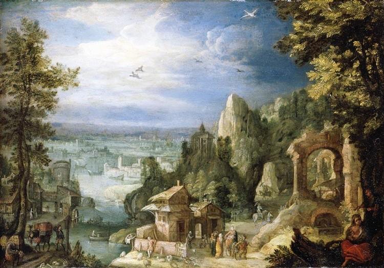 ANTON MIROU ANTWERP 1570 - 1661 OR AFTER