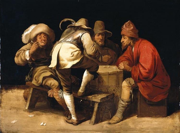f - PIETER JANSZ. QUAST AMSTERDAM 1605/6 - 1647