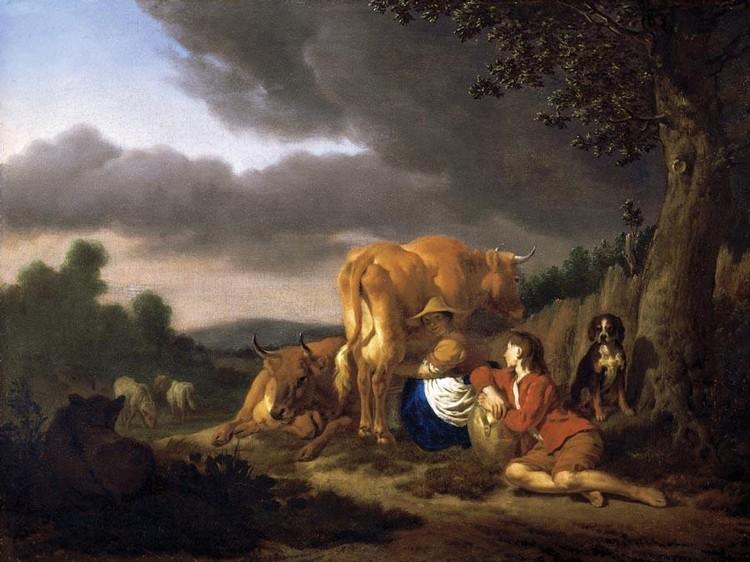 ADRIAEN VAN DE VELDE AMSTERDAM 1636 - 1672