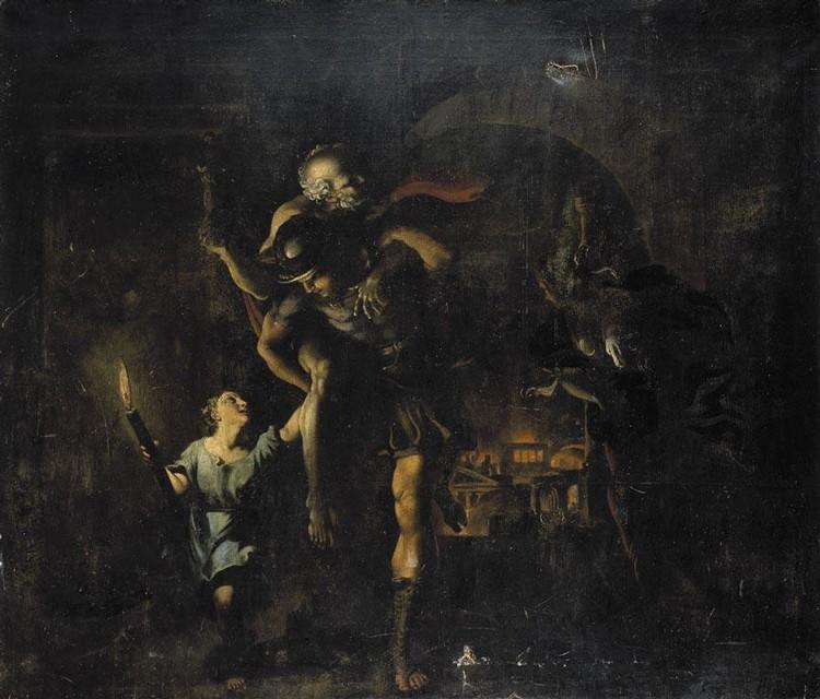 GIOVANNI LANFRANCO PARMA BAPT 1582 - 1647 ROME