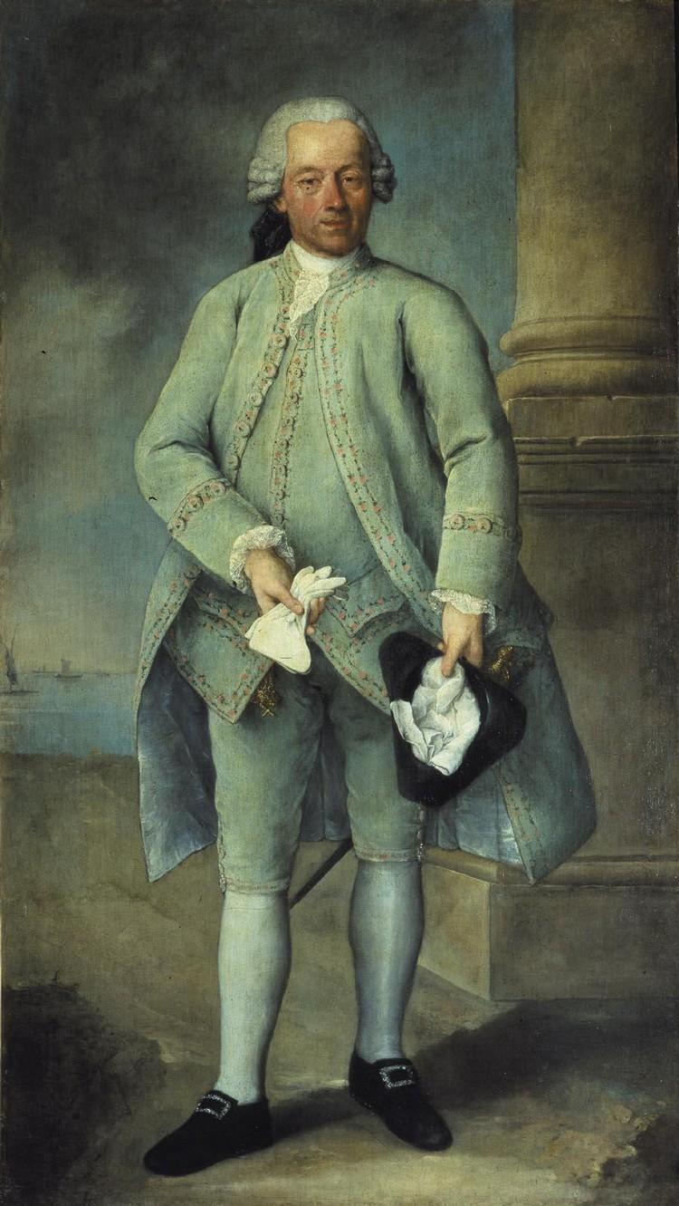 ALESSANDRO LONGHI VENICE 1733 - 1813