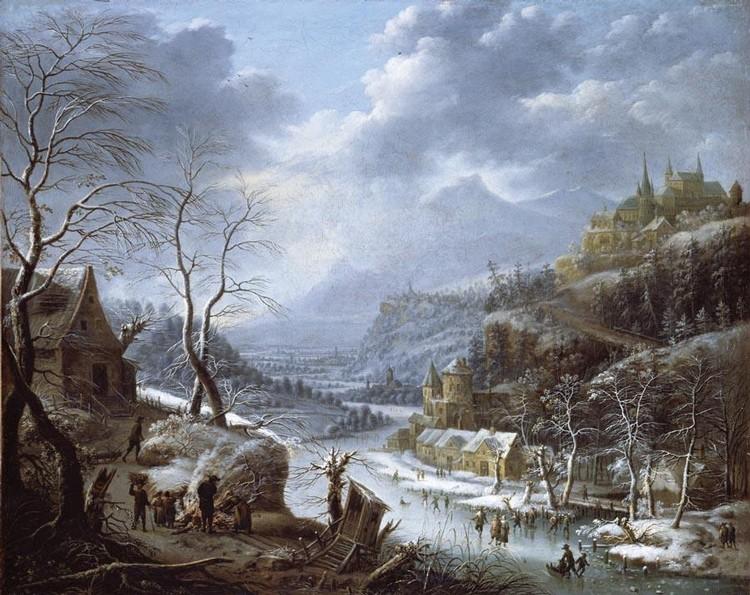 JOHANN CHRISTIAN VOLLERDT LEIPZIG 1708 - 1769 DRESDEN