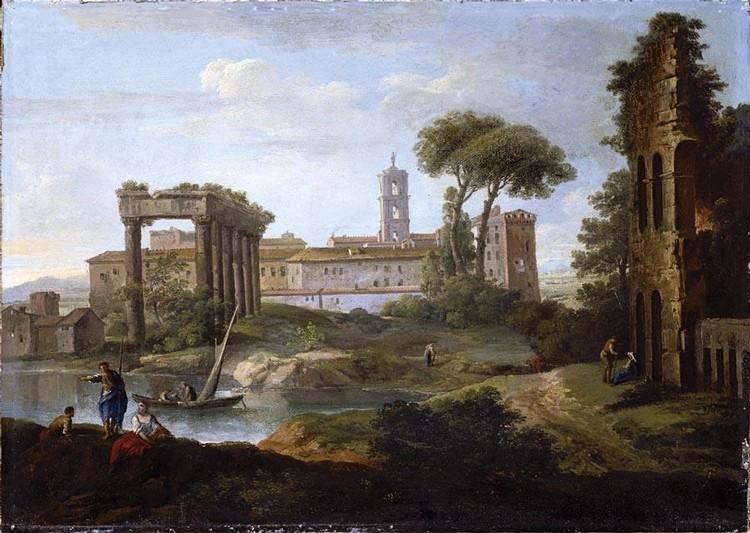 PAOLO ANESI ROME 1697 - 1773