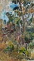 GRACE COSSINGTON SMITH , BUSH SCENE Oil on board, Grace Cossington Smith, Click for value