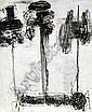 GUSTAVE KLUGE B.1947 URD SKULD VERDOND  E3 000-5 000, Gustav  Kluge, Click for value