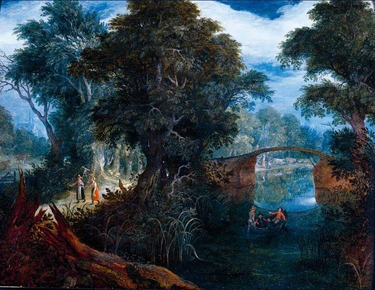 ABRAHAM GOVAERTS ANTWERP BAPT 1589 - 1626