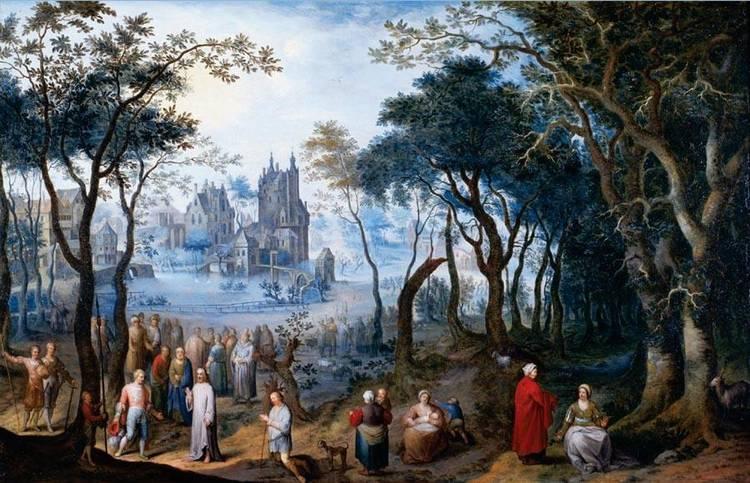 BALTHAZAR BESCHEY ANTWERP BAPT 1708 - 1776