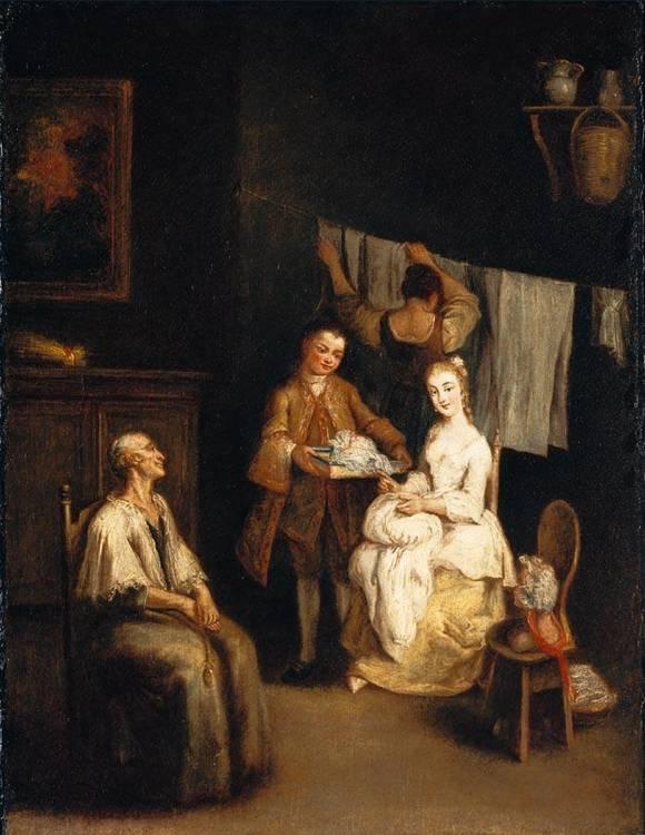PIETRO LONGHI VENICE 1701- 1785