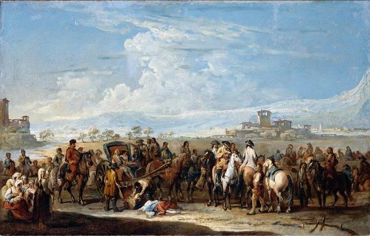 FRANCESCO SIMONINI PARMA 1686 - AFTER 1755 VENICE OR FLORENCE