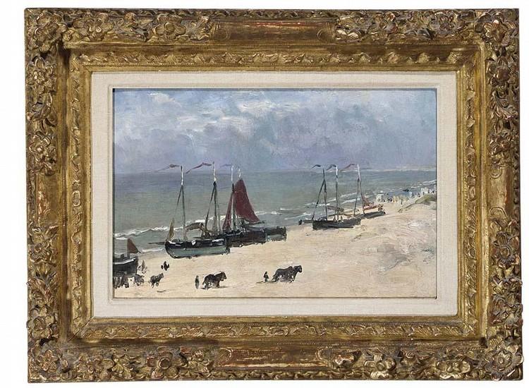 JOHAN BARTHOLD JONGKIND DUTCH, 1819-1891