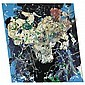 - Ger van Elk , b. 1941 Parrots in Green Vase   enamel paint over colour photograph on PVC     , Ger van Elk, Click for value