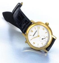 AUDEMARS PIGUET | A LIMITED EDITION YELLOW GOLD GRAND AND PETITE SONNERIE MINUTE REPEATING WRISTWATCH<br />REF 25750 CASE D51167 NO 15/50 JULES AUDEMARS GRANDE SONNERIE CIRCA 1997