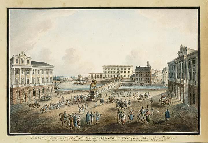 JOHAN FREDRIK MARTIN SWEDISH, 1755-1816