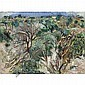 Patrick Swift , 1927 - 1983 Algarve Landscape oil on canvas, unframed, Patrick Swift, Click for value