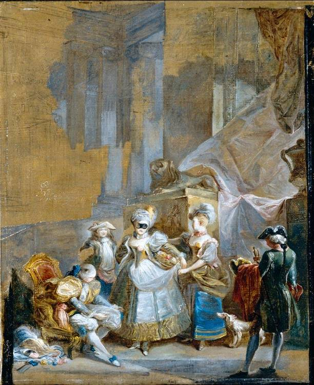 f - LUIS PARET Y ALCÁZAR MADRID 1746 - 1799
